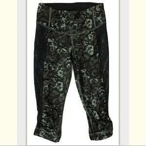 Lululemon Stop At Nothing Camo Style Legging